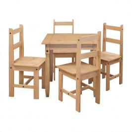 Jídelní stůl 16117 + 4 židle 1627 CORONA 2