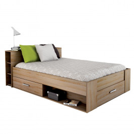 Multifunkční postel POCKET 140x200 159571 dub