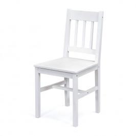 Jídelní židle PALMIRO bílý lak