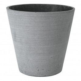 Blomus Květináč Coluna tmavě šedý Ø 26 cm