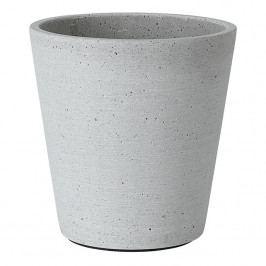 Blomus Květináč Coluna světle šedý Ø 14 cm