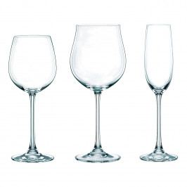Nachtmann Akční balení 18 kusů sklenic na červené víno/bílé víno/šampaňské Vivendi Premium