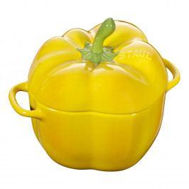 Staub Hrnec ve tvaru papriky 0,45 l žlutá
