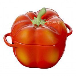 Staub Hrnec ve tvaru papriky 0,45 l oranžově-červená