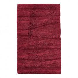 ZONE Koupelnová předložka 80 x 50 cm maroon red FLOW