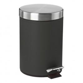 ZONE Pedálový odpadkový koš 3 l black