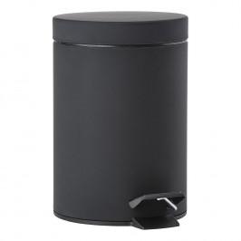 ZONE Pedálový odpadkový koš 3 l black SOLO