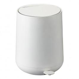 ZONE Pedálový odpadkový koš 5 l white NOVA ONE