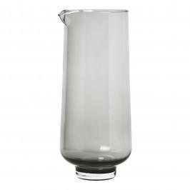 Blomus Karafa na vodu FLOW kouřové sklo 1,1 l