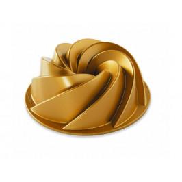 Nordic Ware Malá forma na bábovku Heritage Bundt® zlatá