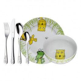 WMF Dětský jídelní set 6dílný set Safari