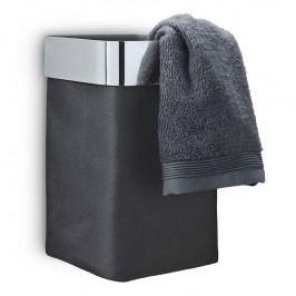 Blomus Nástěnný koš na ručníky NEXIO leštěný antracitový