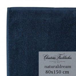 Christian Fischbacher Osuška 80 x 150 cm půlnoční modrá NaturalDream, Fischbacher