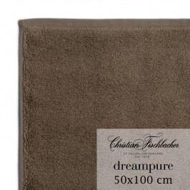 Christian Fischbacher Ručník 50 x 100 cm hnědý Dreampure, Fischbacher