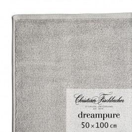 Christian Fischbacher Ručník 50 x 100 cm grafitový Dreampure, Fischbacher