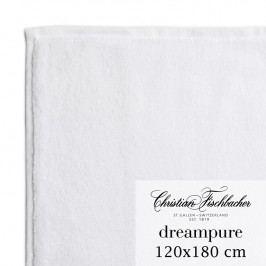 Christian Fischbacher Osuška velká 120 x 180 cm bílá Dreampure, Fischbacher