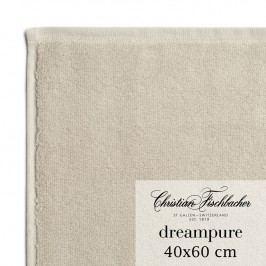 Christian Fischbacher Ručník pro hosty velký 40 x 60 cm pískový Dreampure, Fischbacher