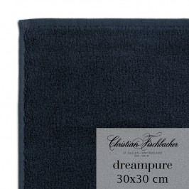 Christian Fischbacher Ručník na ruce/obličej 30 x 30 cm temně modrý Dreampure, Fischbacher