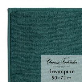 Christian Fischbacher Koupelnová předložka 50 x 72 cm smaragdová Dreampure, Fischbacher