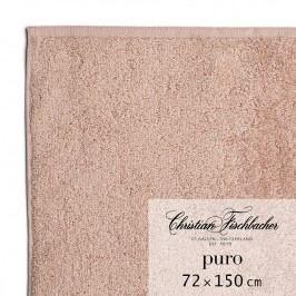 Christian Fischbacher Osuška 72 x 150 cm růžovobéžová Puro, Fischbacher
