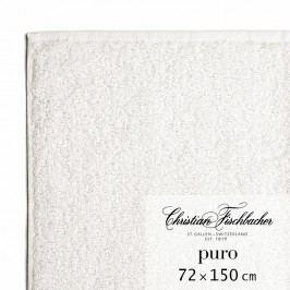 Christian Fischbacher Osuška 72 x 150 cm křídová Puro, Fischbacher