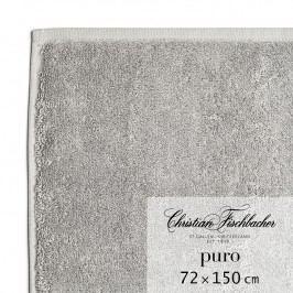 Christian Fischbacher Osuška 72 x 150 cm grafitová Puro, Fischbacher