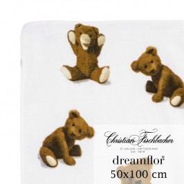 Christian Fischbacher Ručník 50 x 100 cm Medvídek Dreamflor®, Fischbacher