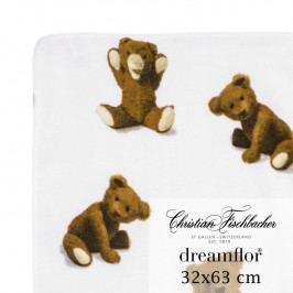 Christian Fischbacher Ručník pro hosty 32 x 63 cm Medvídek Dreamflor®, Fischbacher