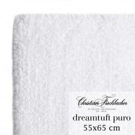 Christian Fischbacher Koupelnový kobereček 55 x 65 cm bílý Dreamtuft Puro, Fischbacher