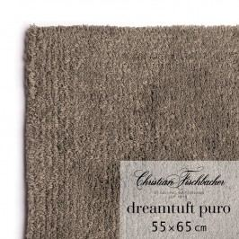 Christian Fischbacher Koupelnový kobereček 55 x 65 cm hnědošedý Dreamtuft Puro, Fischbacher