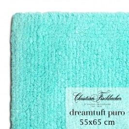 Christian Fischbacher Koupelnový kobereček 55 x 65 cm tyrkysový Dreamtuft Puro, Fischbacher