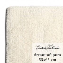 Christian Fischbacher Koupelnový kobereček 55 x 65 cm krémový Dreamtuft Puro, Fischbacher