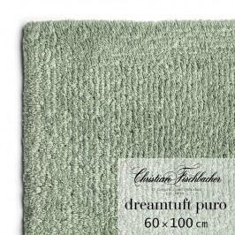 Christian Fischbacher Koupelnový kobereček 60 x 100 cm zelenošedý Dreamtuft Puro, Fischbacher