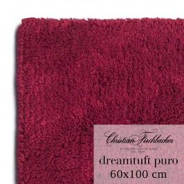 Christian Fischbacher Koupelnový kobereček 60 x 100 cm vínový Dreamtuft Puro, Fischbacher