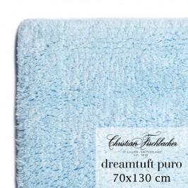 Christian Fischbacher Koupelnový kobereček 70 x 130 cm nebesky modrý Dreamtuft Puro, Fischbacher