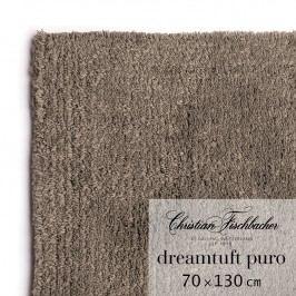 Christian Fischbacher Koupelnový kobereček 70 x 130 cm hnědošedý Dreamtuft Puro, Fischbacher