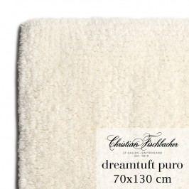 Christian Fischbacher Koupelnový kobereček 70 x 130 cm krémový Dreamtuft Puro, Fischbacher