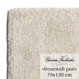 Christian Fischbacher Koupelnový kobereček 70 x 130 cm pískový Dreamtuft Puro, Fischbacher