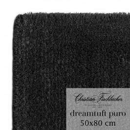 Christian Fischbacher Koupelnový kobereček 50 x 80 cm antracitový Dreamtuft Puro, Fischbacher