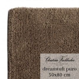 Christian Fischbacher Koupelnový kobereček 50 x 80 cm hnědý Dreamtuft Puro, Fischbacher