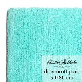 Christian Fischbacher Koupelnový kobereček 50 x 80 cm tyrkysový Dreamtuft Puro, Fischbacher