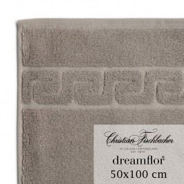 Christian Fischbacher Ručník 50 x 100 cm béžovošedý Dreamflor®, Fischbacher