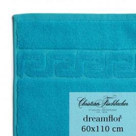 Christian Fischbacher Ručník velký 60 x 110 cm azurový Dreamflor®, Fischbacher