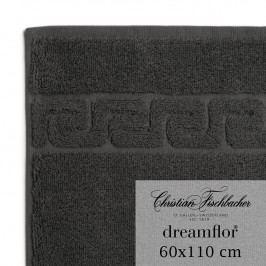Christian Fischbacher Ručník velký 60 x 110 cm antracitový Dreamflor®, Fischbacher