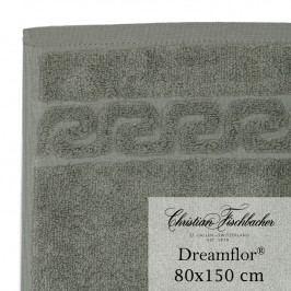 Christian Fischbacher Osuška 80 x 150 cm šedozelená Dreamflor®, Fischbacher