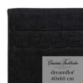 Christian Fischbacher Ručník pro hosty velký 40 x 60 cm černý Dreamflor®, Fischbacher