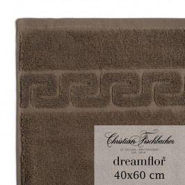 Christian Fischbacher Ručník pro hosty velký 40 x 60 cm hnědý Dreamflor®, Fischbacher