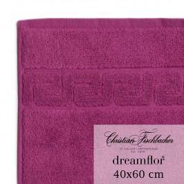 Christian Fischbacher Ručník pro hosty velký 40 x 60 cm ostružinový Dreamflor®, Fischbacher
