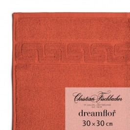 Christian Fischbacher Ručník na ruce/obličej 30 x 30 cm šarlatový Dreamflor®, Fischbacher
