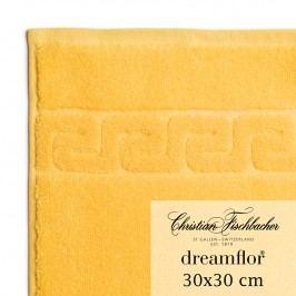 Christian Fischbacher Ručník na ruce/obličej 30 x 30 cm žlutý Dreamflor®, Fischbacher